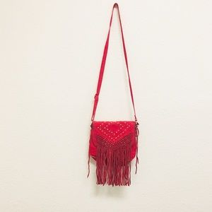 Urban Outfitters Deena & Ozzy Leather fringe Bag